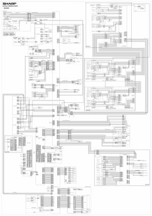 SHARP MX B401P Wiring Chart Diagrams